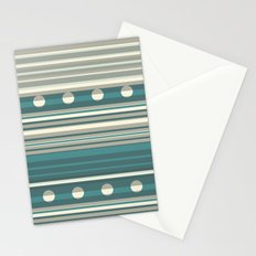 Grey and Blue Stationery Cards