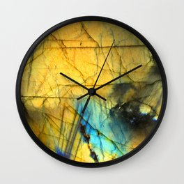 LABRADORITE 2 Wall Clock