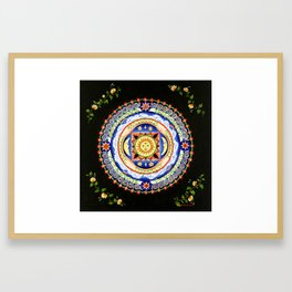 Celestial Lullaby Framed Art Print