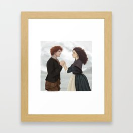 "Outlander ""The Frasers"" Framed Art Print"