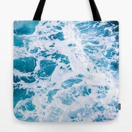Perfect Ocean Sea Waves Tote Bag