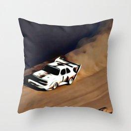 S1 Quattro Walter Röhrl Throw Pillow