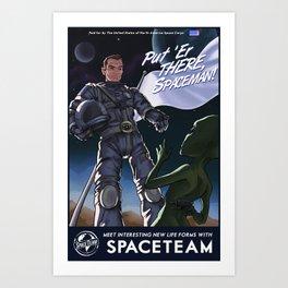 Spaceteam Art Print