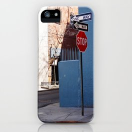 Colorful Street, Greenwich Village NYC iPhone Case