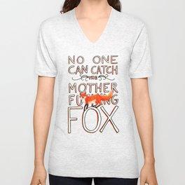 Mother-Foxer Unisex V-Neck