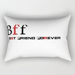 Best friend forever Rectangular Pillow
