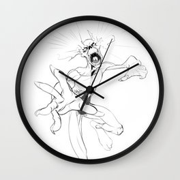 Zombie Attack Wall Clock
