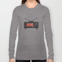 Brittish TV Takeover  Long Sleeve T-shirt