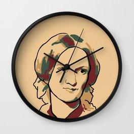 Charlotte Brontë Wall Clock