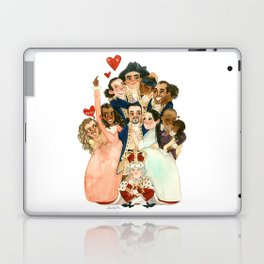 Hamilton Hug Laptop & iPad Skin