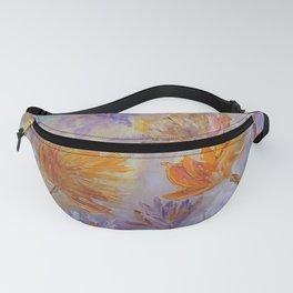 Purple Blaze Fanny Pack