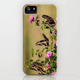 Three's Company iPhone Case