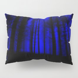 fantasy forest at night Pillow Sham