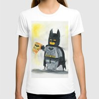 superhero T-shirts featuring Lego Superhero by Toys 'R' Art