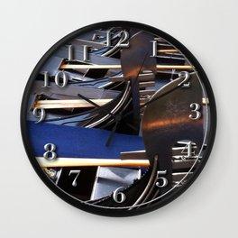Gondolas, Venice Wall Clock