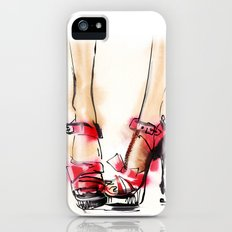 Red shoes Slim Case iPhone (5, 5s)
