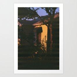 Denver Golden Hour Art Print