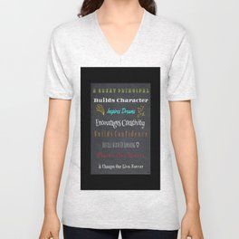 For A Great Principal Unisex V-Neck