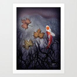 The carp's journey 4 Art Print