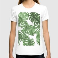 palms T-shirts featuring Monstera Deliciosa by Laura O'Connor