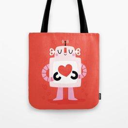 Love Robot Tote Bag