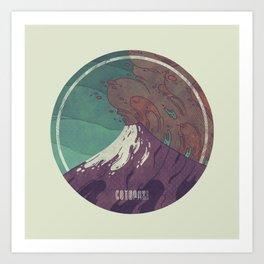 Cotopaxi Art Print