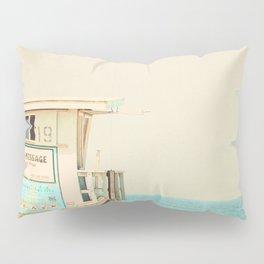 White Beach Pillow Sham