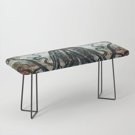 Octopus In Stormy Water Bench