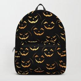 Scary jack-o-lantern Backpack