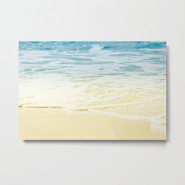 Kapalua Beach dream colours sparkling golden sand seafoam Maui Hawaii Metal Print