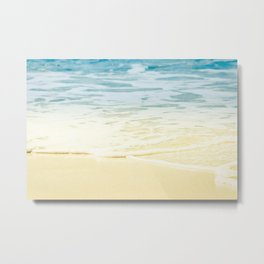 Kapalua Beach dream colours sparkling golden sand seafoam Maui Hawaii Metal Print