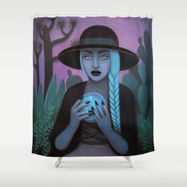 For Crystal Visions Shower Curtain