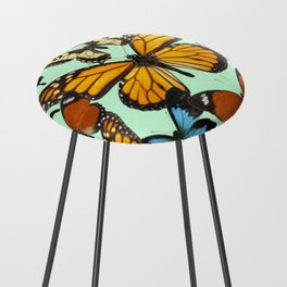 Mariposas- Butterflies Counter Stool