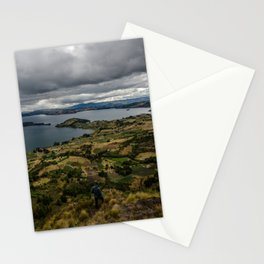 Lake Tota, Colombia Stationery Cards