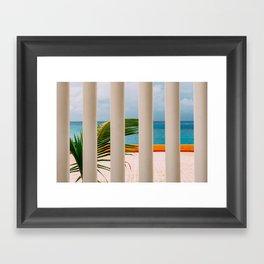 Cozumel Colours Framed Art Print