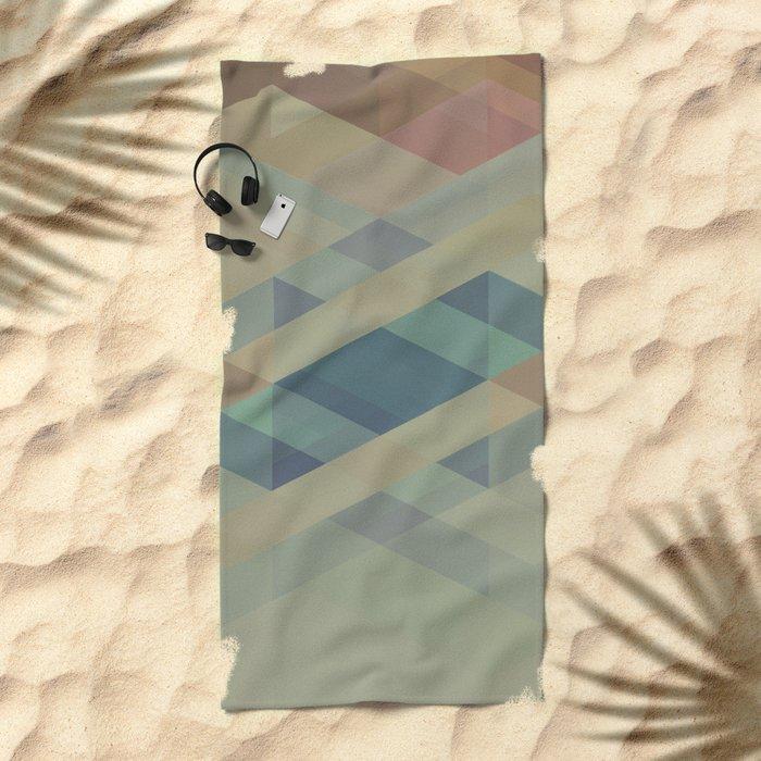 The Clearest Line Beach Towel