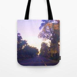 5th Avenue Sunrise Tote Bag