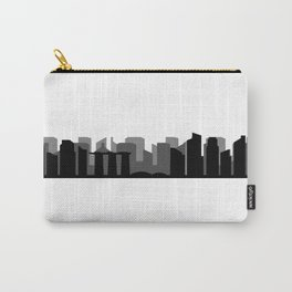 singapore skyline Carry-All Pouch