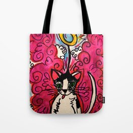 Queenie, The Angel of Beauty Tote Bag