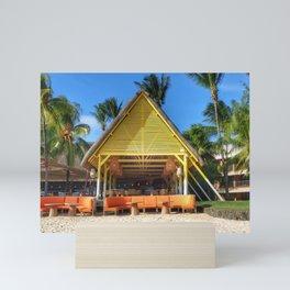 Hôtel club Mauritius Mini Art Print