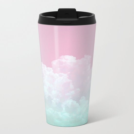 Dreamy Candy Sky Metal Travel Mug