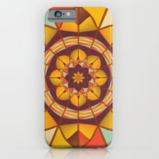 Multicolored geometric flourish iPhone 6s Slim Case