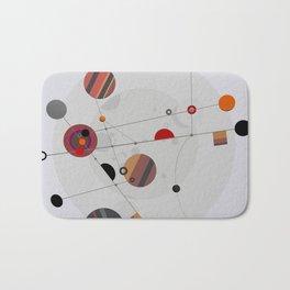 Abstract Composition 567 Bath Mat