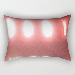 Abstracte Light Art in the Dark Version 37 Rectangular Pillow