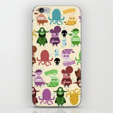 pirate pattern iPhone & iPod Skin