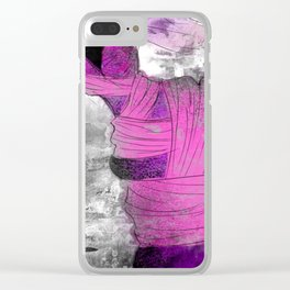 Travel - Runaway Fashion Clear iPhone Case
