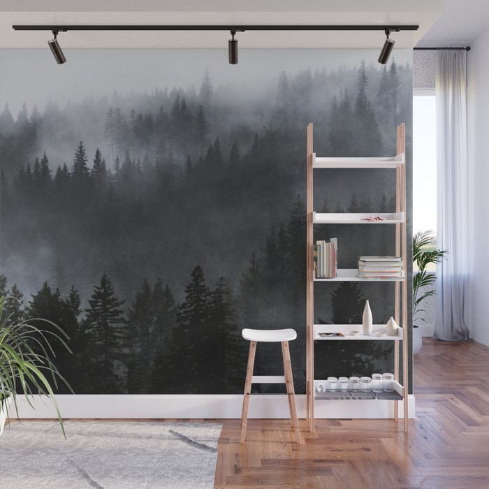 A Walk in the Woods Wall Mural