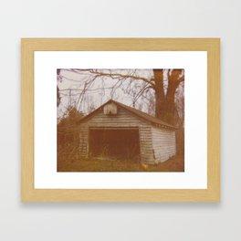 Forgotten Barn Framed Art Print