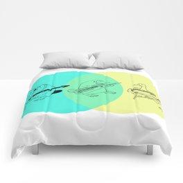 Keytar Platypus Venn Diagram Comforters