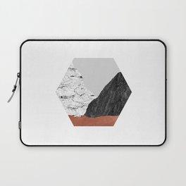 Copper Geometric I Laptop Sleeve